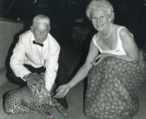 Carol and Marlin Perkins